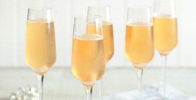 coctel de champagne